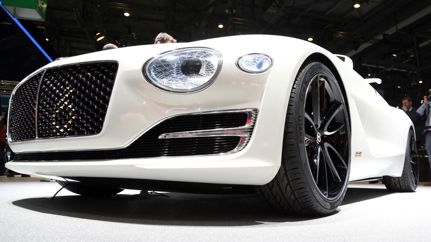 Genève 2017 - Bentley EXP 12 Speed 6e Concept, un superbe cabriolet électrique