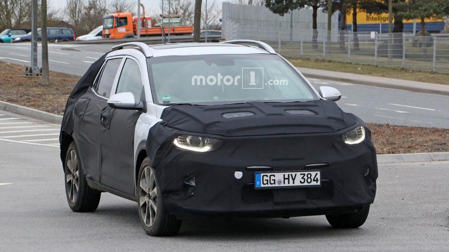 Photos espion - Le Kia Stonic à nouveau surpris en cours d'essais !