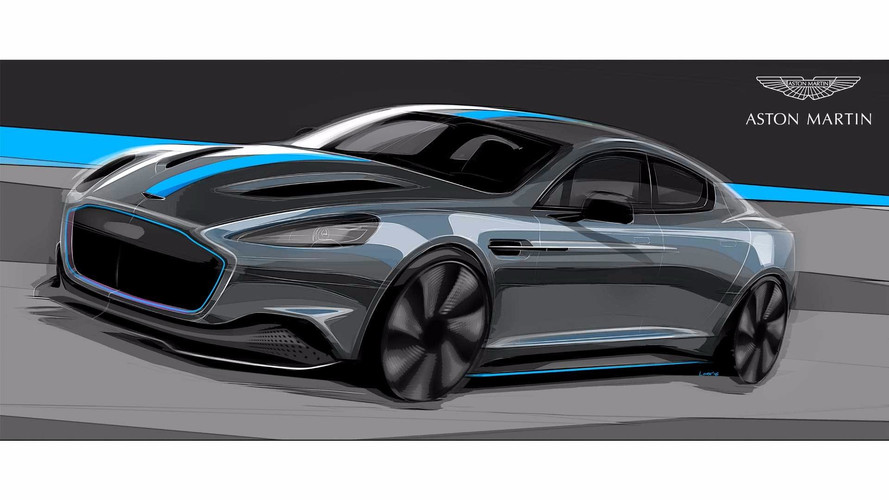 Aston Martin'in elektrikli RapidE için hedefi 2019