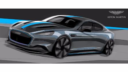Aston Martin - La RapidE électrique confirmée pour 2019