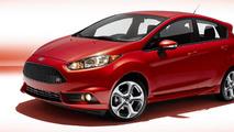 Ford says 2014 Fiesta ST returns 26 mpg city / 35 mpg highway