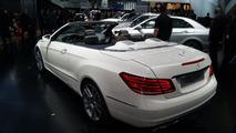2014 Mercedes-Benz E-Class Cabriolet live in Detroit 14.01.2013
