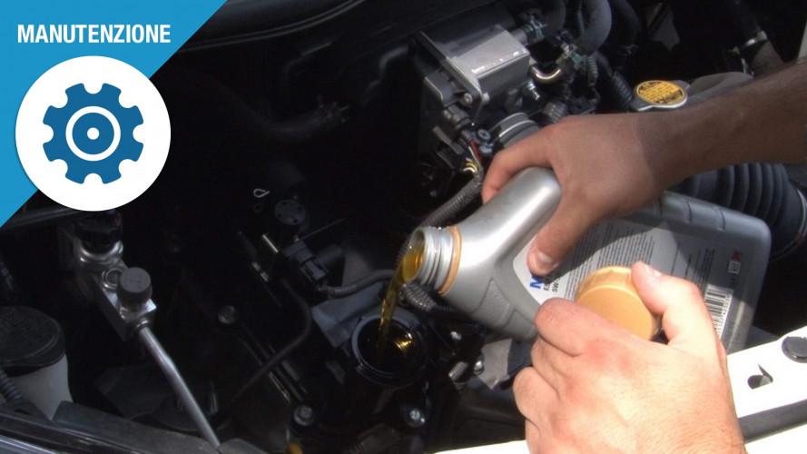 Olio motore, come si controlla se il livello è giusto