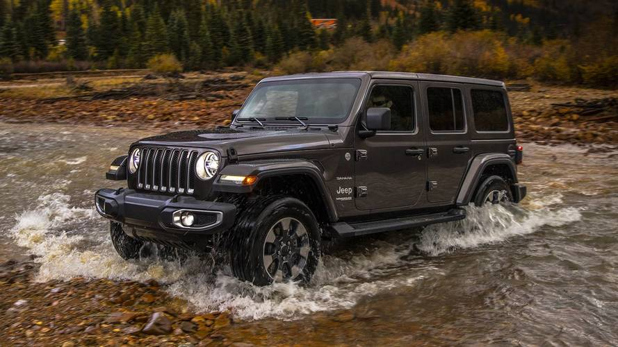 2018 jeep wrangler sheds weight adds engine options in l a. Black Bedroom Furniture Sets. Home Design Ideas