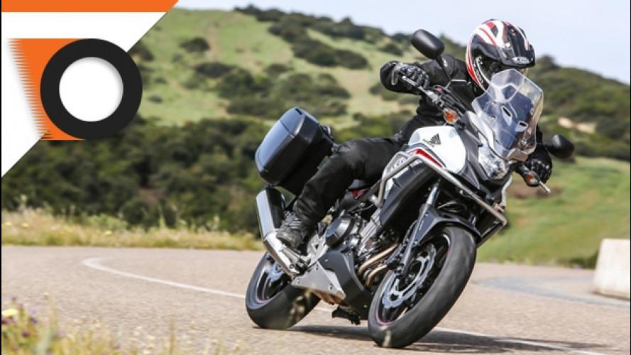 La nuova Honda CB500X nel test di OmniMoto.it