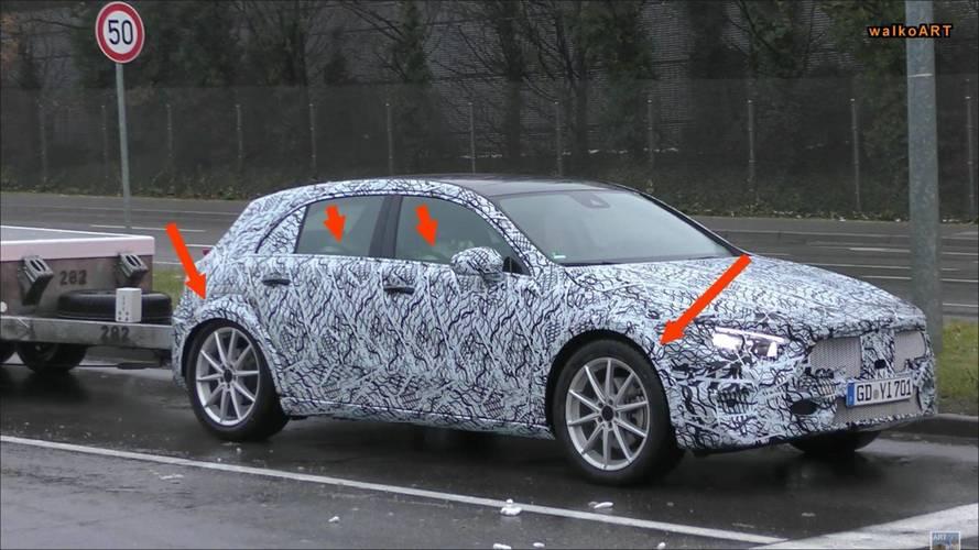 Flagra - Novo Mercedes-Benz GLA aparece em testes