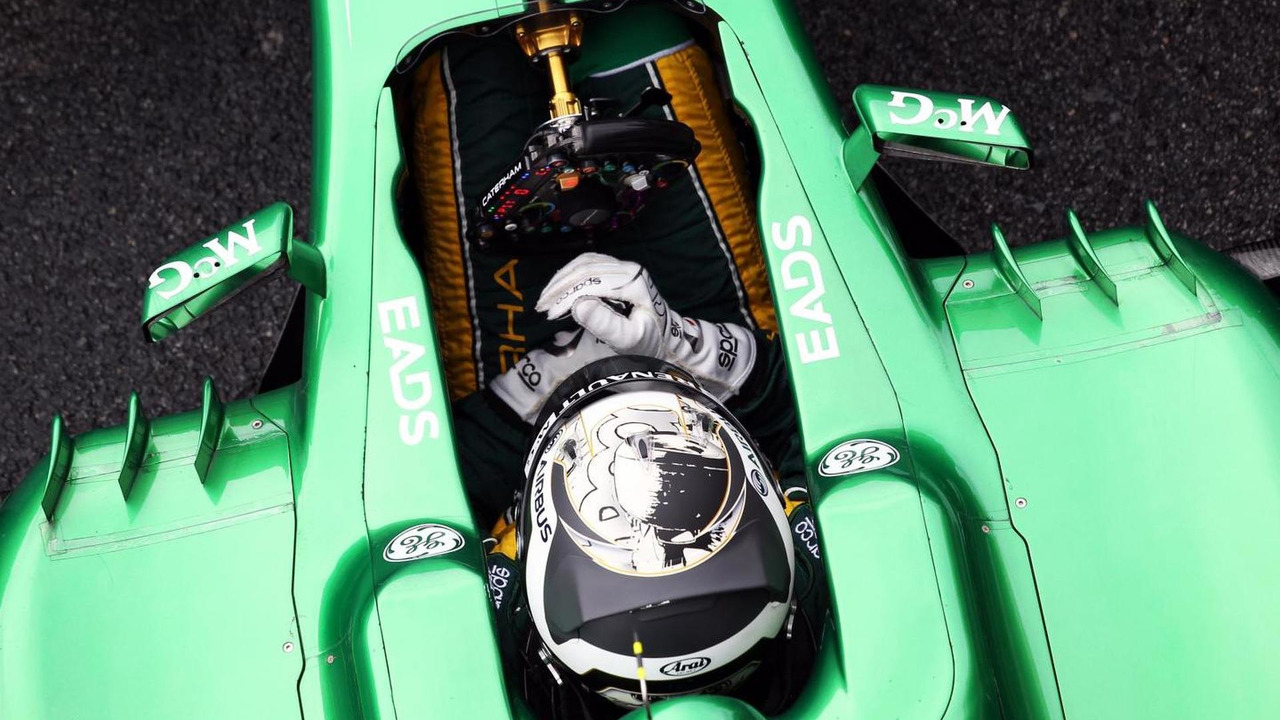 Giedo van der Garde 01.03.2013 Formula One Testing Barcelona Spain