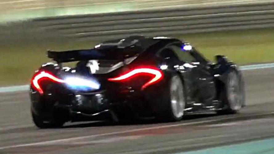Onboard video of McLaren P1 lapping the Yas Marina circuit
