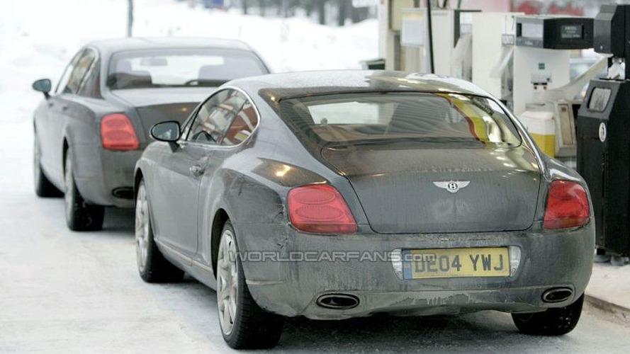 SPY PHOTOS: Bentley Continental GT and Flying Spur Facelift