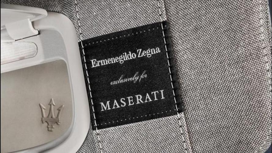 Maserati Ghibli e Quattroporte Ermenegildo Zegna, quelle di serie