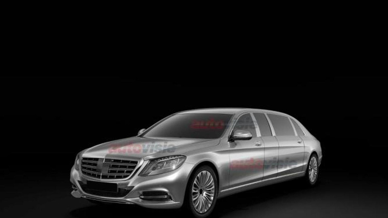 Mercedes-Benz S-Class Pullman leaked patent pic