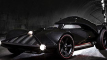 Hot Wheels reveals sinister Darth Vader full-size operational car [video]