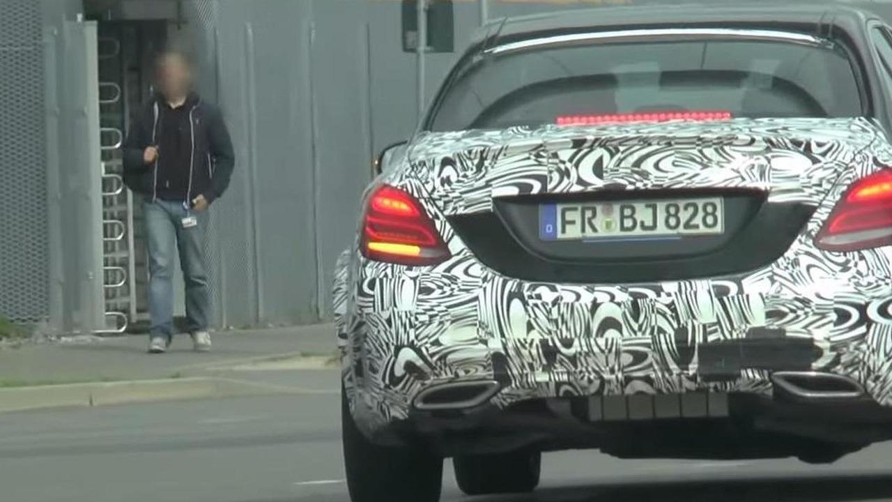 Mercedes-Benz C-Class test mule