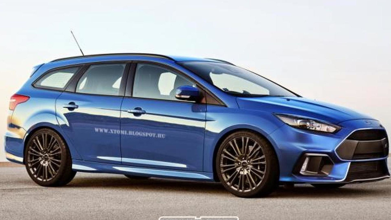 Ford Focus RS Wagon rendering