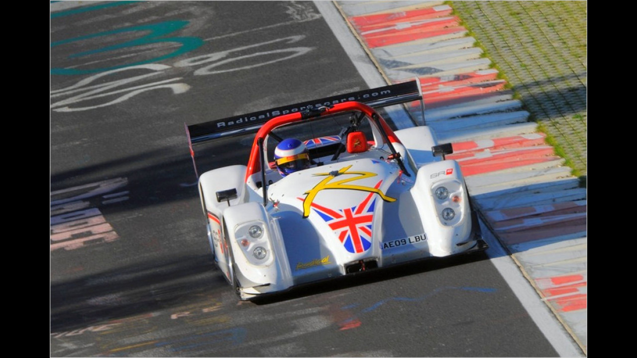 Radical SR8 LM, Michael Vergers, 2009