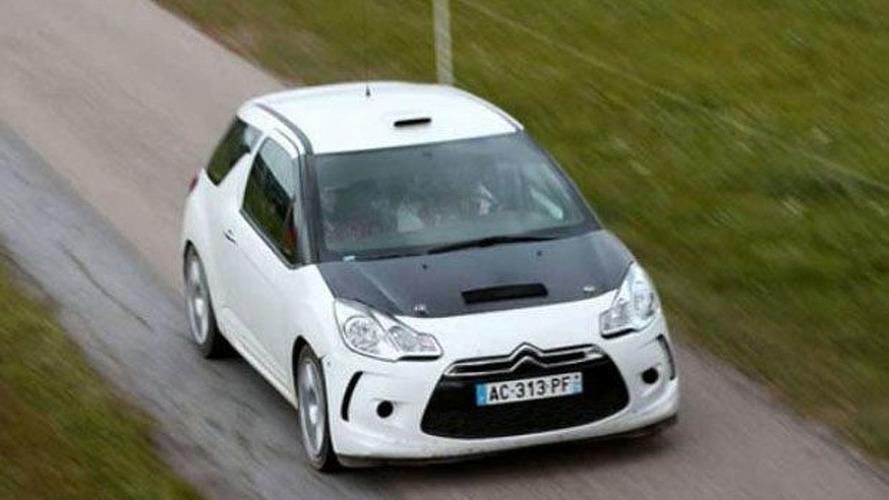 Citroen DS3 Rally Car Caught
