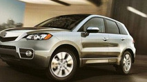 2010 Acura RDX facelift images leaked