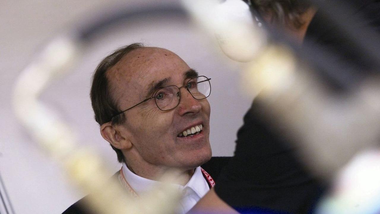 Sir Frank Williams, Team Principal, Williams Toyota