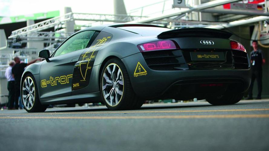 Audi runs R8 e-Tron prototype at 24 Hours of Le Mans