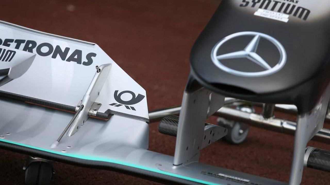 Deutsche Post now on the Mercedes, Monaco Grand Prix, 12.05.2010 Monaco, Monte Carlo