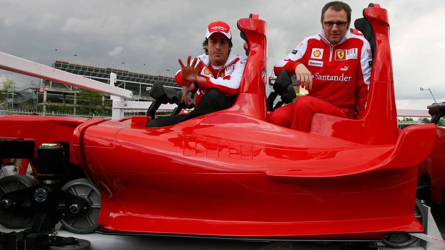 Alonso hopes for dry weekend in Barcelona