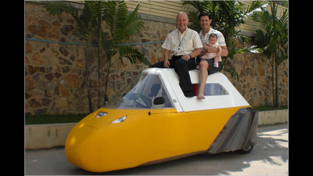 Spira Foam Car