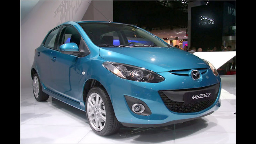 Mazda 2 überarbeitet: Komfortabler und mit Euro 5