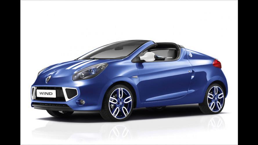 Renault Wind: Bald auch im Gordini-Dress