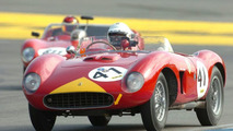Giancarlo Galeazzi with Ferrari 500 TR