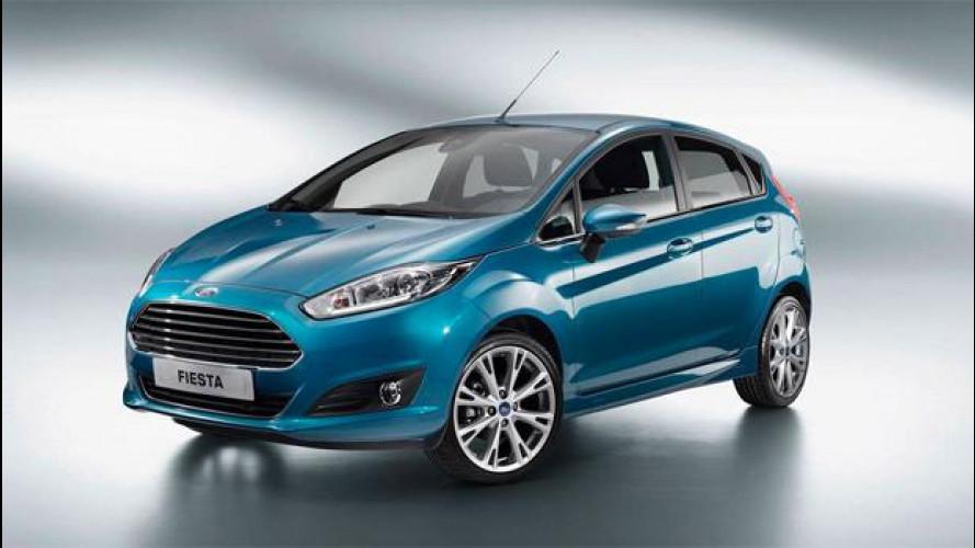 Ford Fiesta restyling: 2.000 euro di sconto sul prezzo di lancio