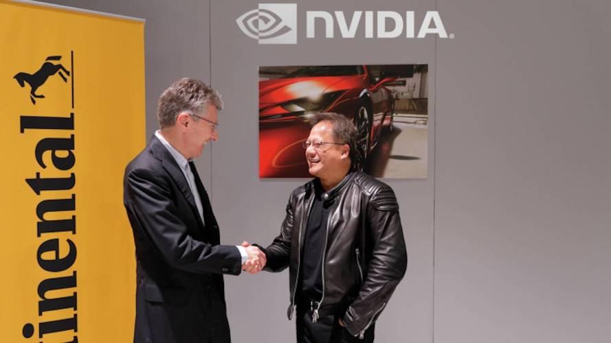 Guida autonoma, accordo tra Continental e Nvidia