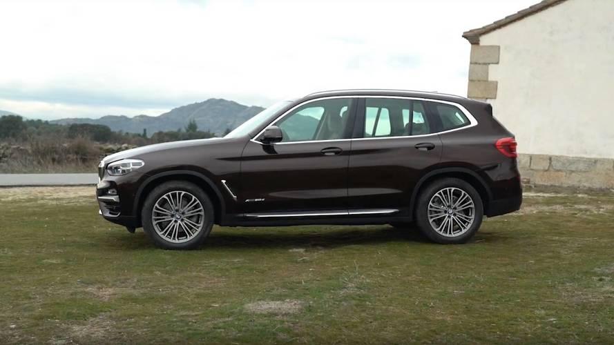 ¿Qué coche comprar? BMW X3 2018