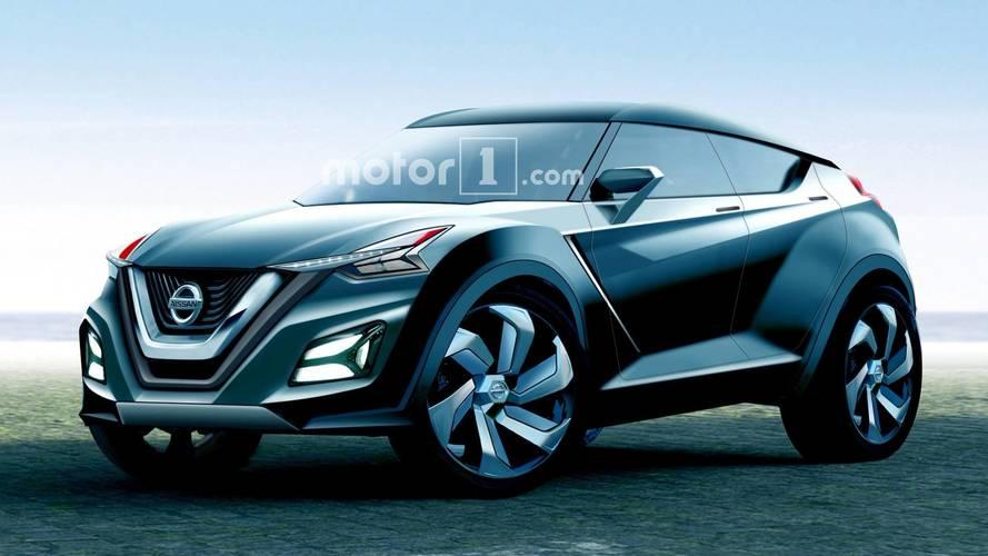Projeção - Proximo Nissan Juke é imaginado como uma versão mais radical do Kicks