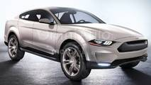 Ford Mach 1, il rendering