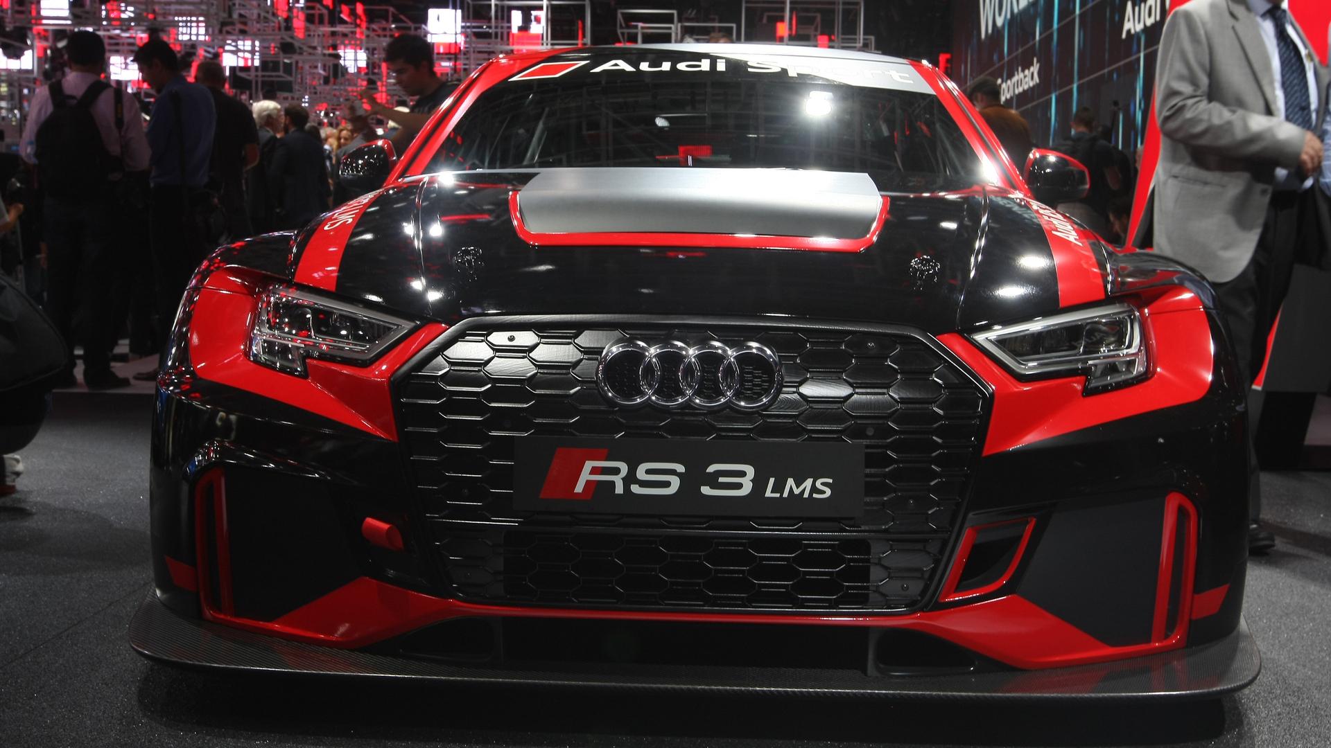 Audi Sport Unveils Rs3 Lms Race Car