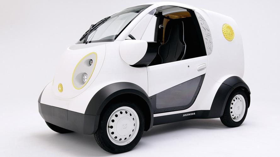 Honda, 3D yazıcı ile ürettiği Micro Commuter EV'yi tanıttı