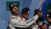 Podium- race winner Mark Webber, Porsche Team