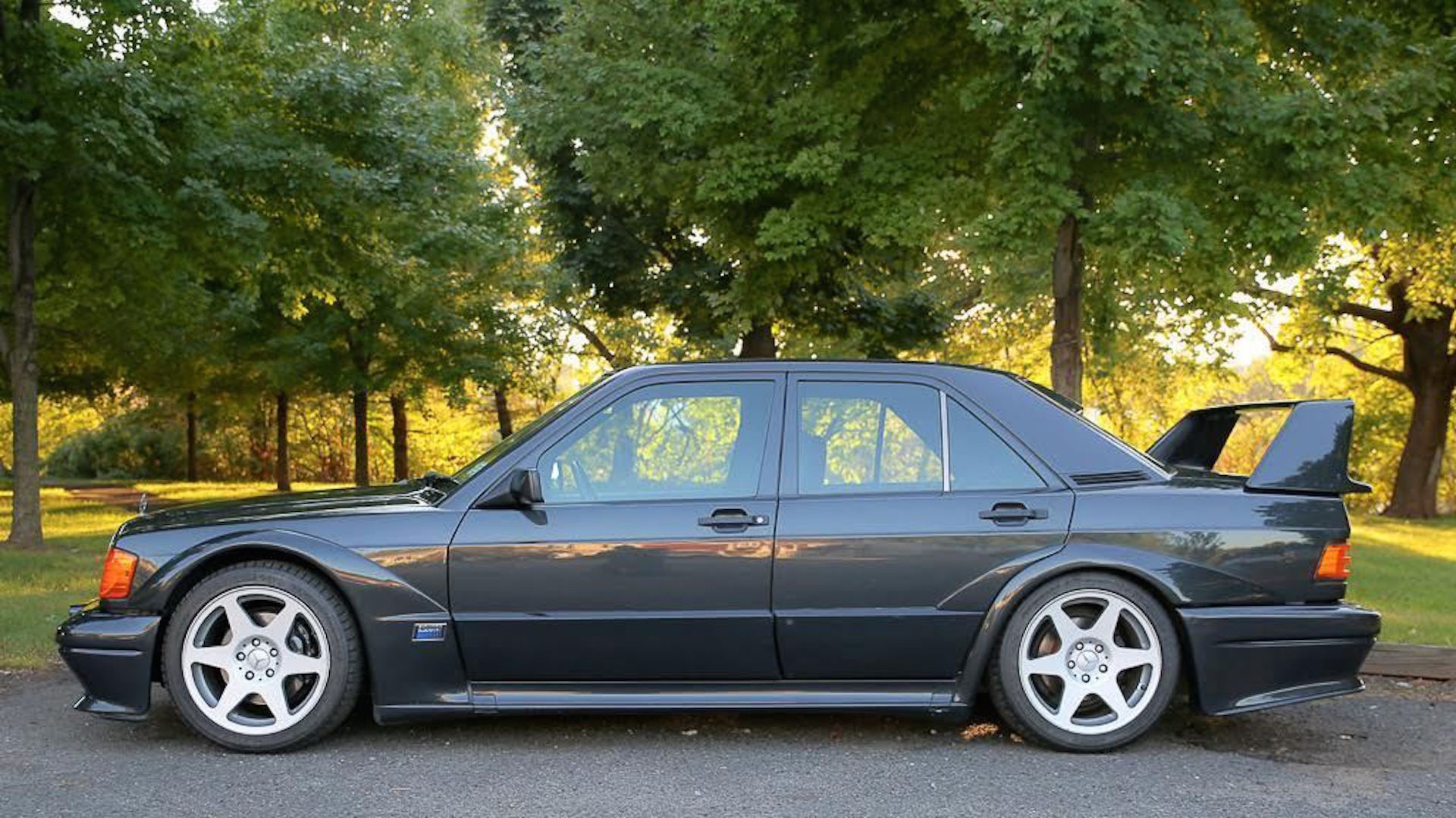 1990 mercedes benz 190e cosworth evo ii on ebay with for 1990s mercedes benz