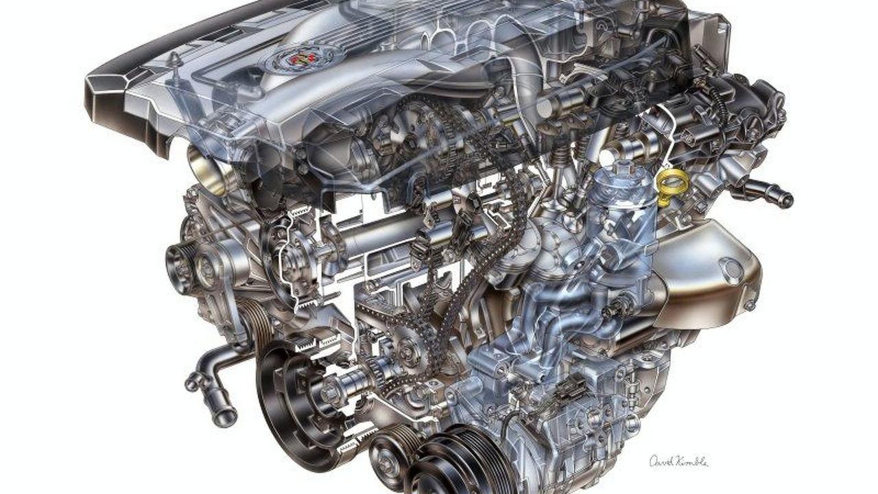 2008 GM 3.6L Direct-injection V-6 (LLT) with VVT