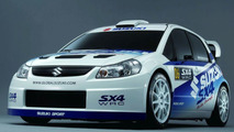 Suzuki SX4 2007 World Rally Championship Car