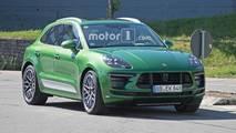 Porsche Macan Photos espion