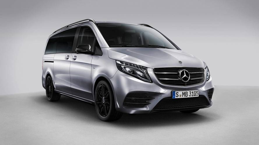 Mercedes V-Class Gets AMG Upgrades With New Night Edition Model
