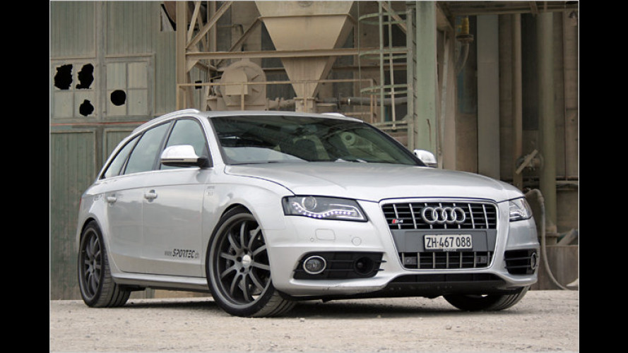 Audi S4 Avant noch spritziger