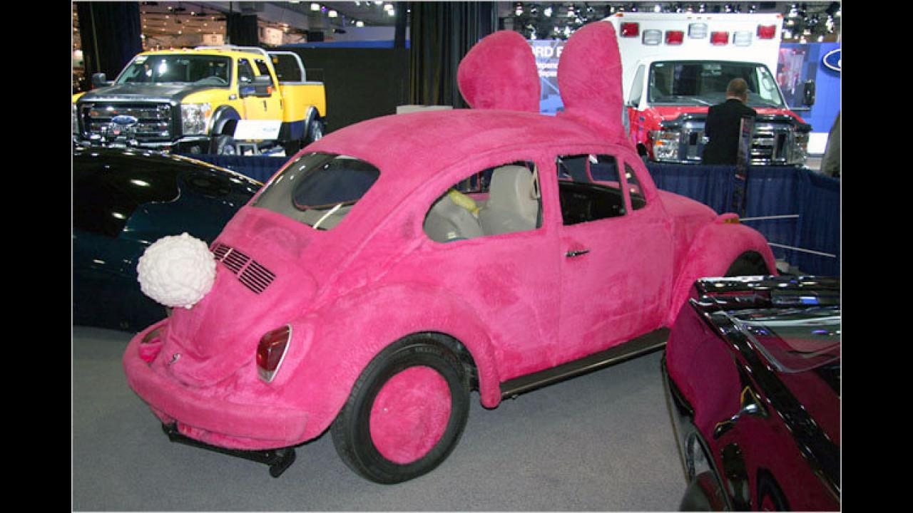 Ein Beetle als Bunny: Das passt zu Ostern