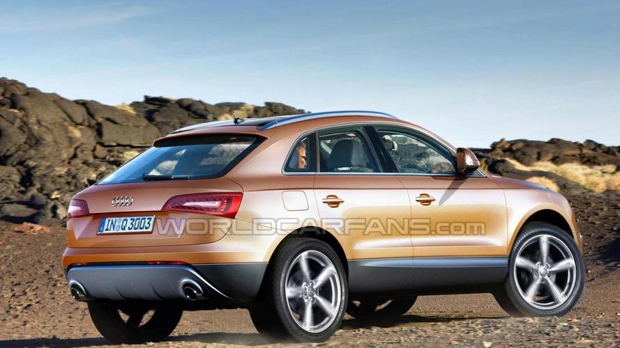 Audi Q3 rendered