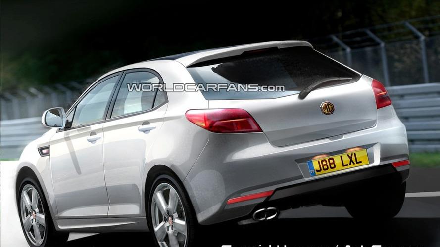 Rendered: MG Hatchback Reborn in 2010
