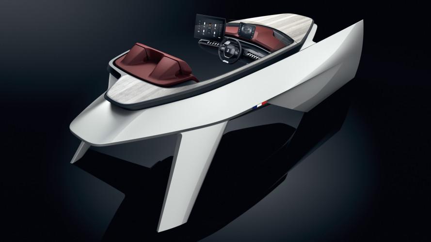 Peugeot, l'i-Cockpit ispira la plancia delle imbarcazioni Beneteaut