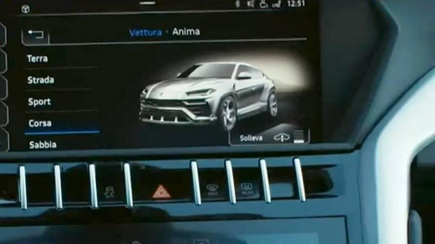 Lamborghini Urus nuevo teaser