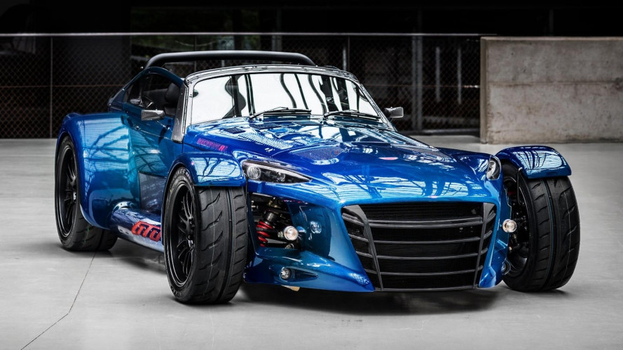 Donkervoort D8 GTO RS, carbonio blu per l'ultima serie speciale