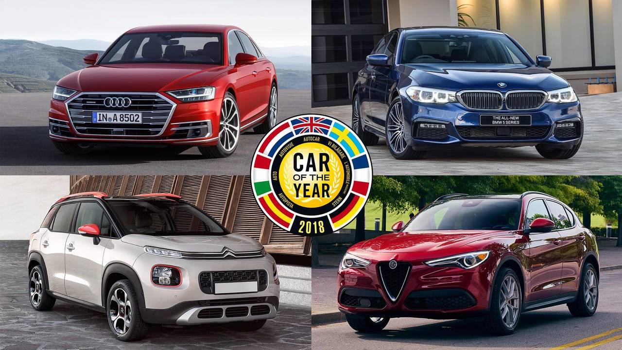 Diaporama voiture de l 39 ann e 2018 les sept finalistes for Garage achat de voiture